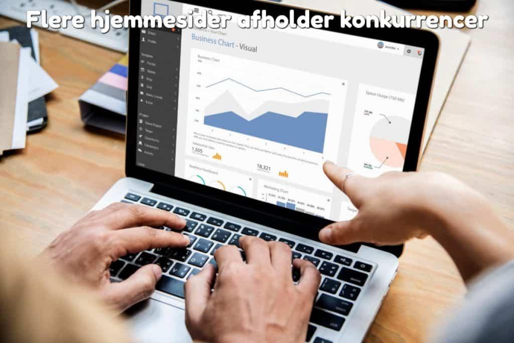 Flere hjemmesider afholder konkurrencer